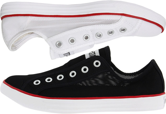 materialology new converse mesh chuck slip on. Black Bedroom Furniture Sets. Home Design Ideas