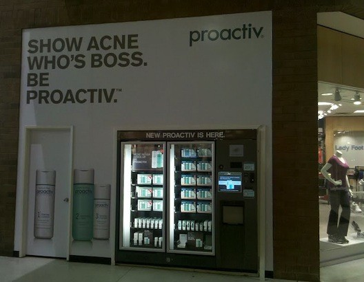 PROACTIV Vending machines at Glendale Galleria