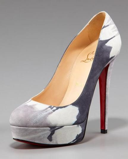 """newest a9247 dde35 Christian Louboutin """"BIANCA"""" goes suede tie-dye – Materialology"""