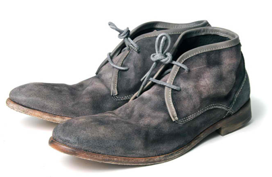 Materialology » Cruise suede chukka boot by H by HUDSON