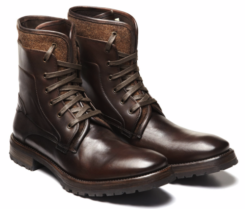 John Varvatos Leather lace-up Work boots are perfection