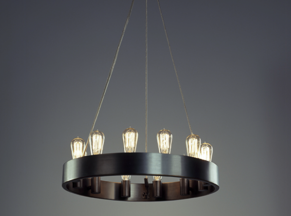Materialology eveleigh chandelier brings together vintage modern eveleigh chandelier brings together vintage modern to lighting mozeypictures