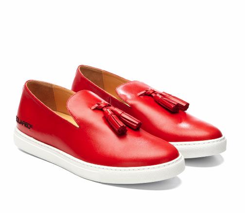 AMAZABALLS! DSquared Tassled Loafer Sneakers