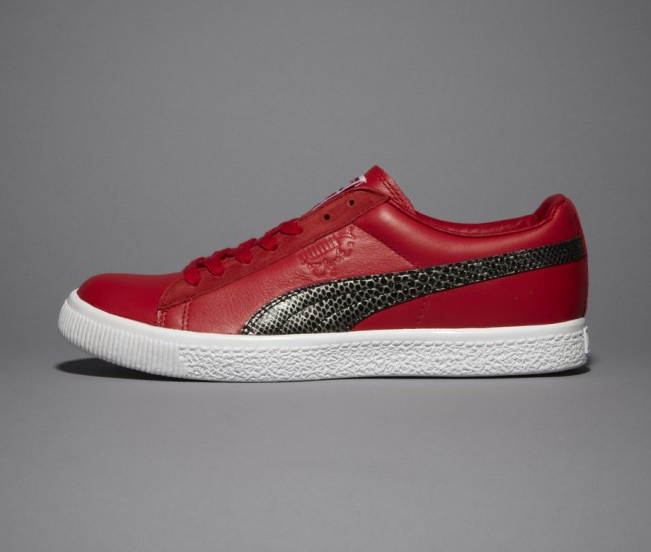 new concept 81964 205a3 UNDFTD Puma Clyde Snakeskin are Red Hot! – Materialology