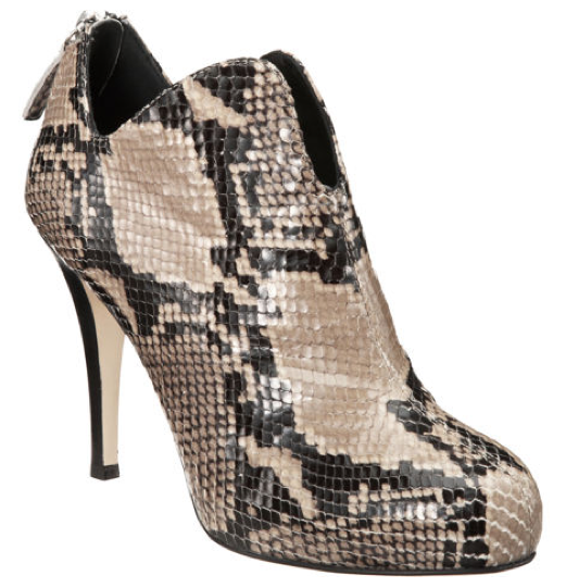 Snake CO-OP Side Dip Bootie from Barneys New York