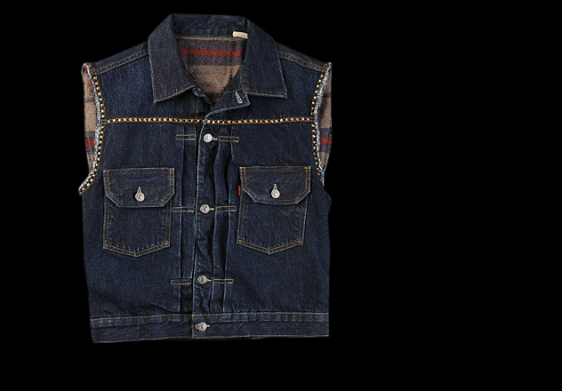 LEVI'S Vintage Collection 1953 Type II Studded Sleeveless Jacket