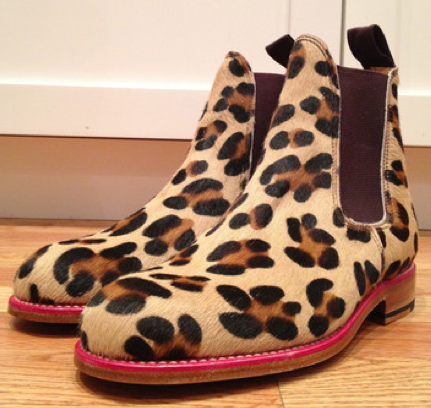Ladies Leopard Chelsea Boot from MRAK MCNAIRY is Amazing