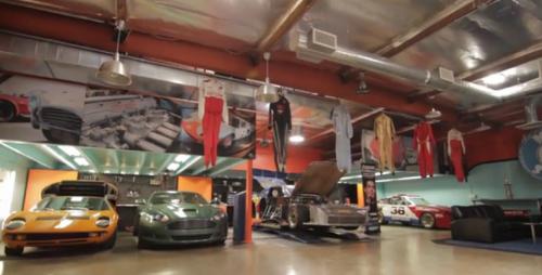 Feature Video: Inside Adam Carolla's Private Garage