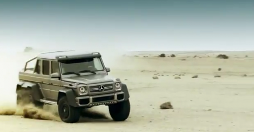 G63 AMG 6x6 is a MERCEDES BENZ freak of good nature