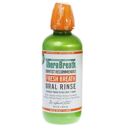 THERABREATH oral rinse is the best