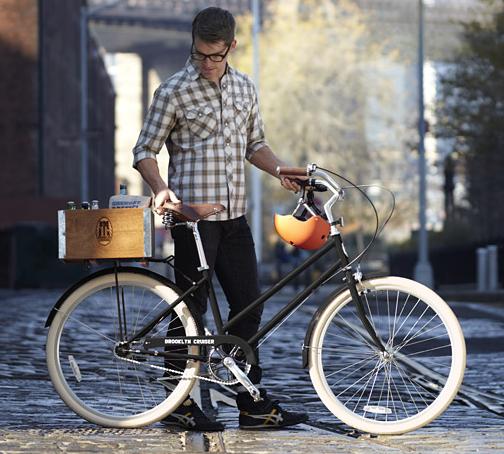 Vintage inspired Brooklyn Cruiser bicycle
