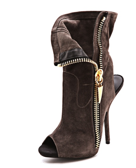 Amazing Alien peep toe stilettos from GIUSEPPE ZANOTTI