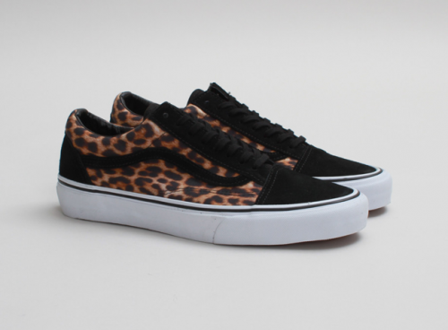 Leopard OLD SKOOL from VANS are the perfect balance