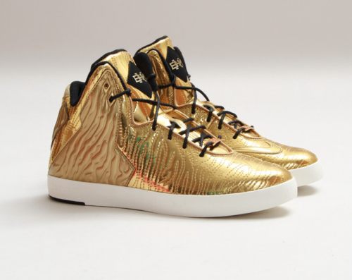 low priced 01dfd 8c974 Golden NIKE LeBron XI from the NSW Lifestyle