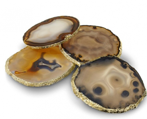 Agate Coasters are a cut above the average coaster