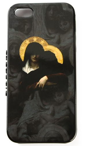 GIVENCHY Saint Print iPhone case