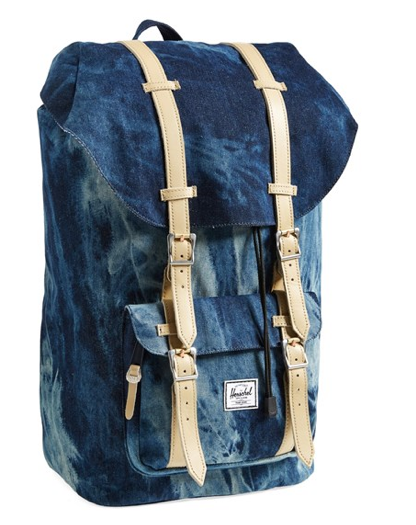 68f26a8918d Materialology » Denim Acid Wash Little America Backpack from ...