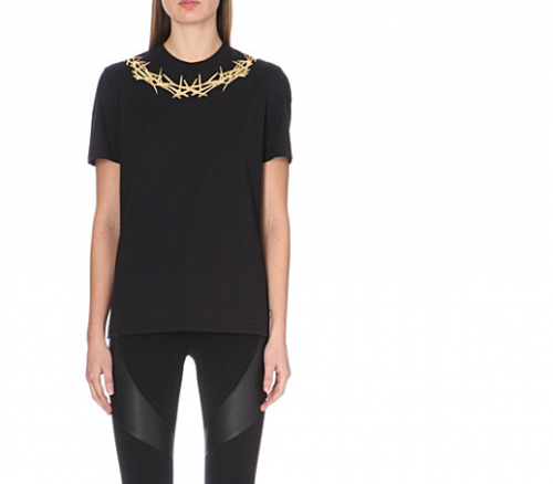 GIVENCHY Crown Print T-Shirt a SELFRIDGES&Co exclusive