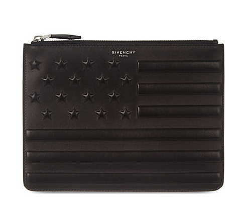 GIVENCHY Stars & Stripes zip pouch