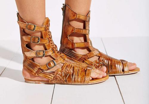 "BED STU ""AURELIA"" Tall Huarache Sandals"