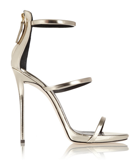Coline metallic leather sandals from GIUSEPPE ZANOTTI