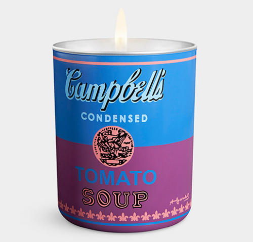 MoMA Exclusive Andy Warhol Candle: Blue and Purple