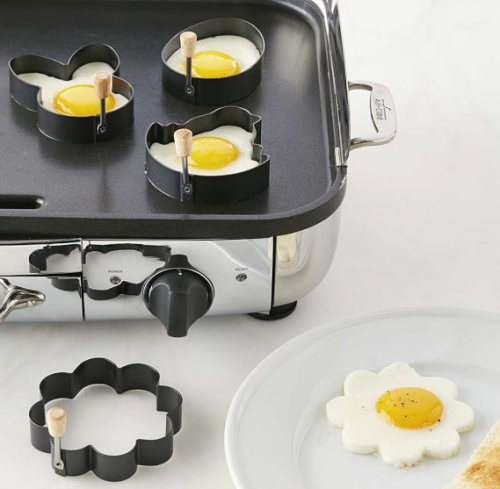 Easter Egg Fry Rings Set