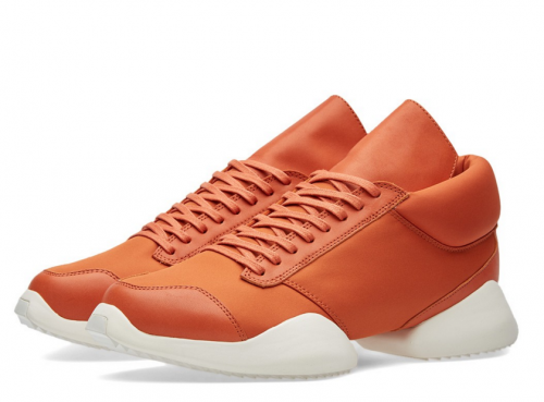ADIDAS X RICK OWEN Runner in Fox Orange
