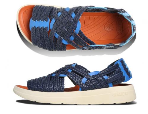 MALIBU SANDALS X MISSONI get together on this CANYON huarache sandal