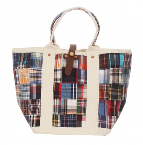 LA ROCCA Exclusive Shirt Fabric Market Tote for RON HERMAN