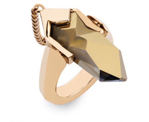 06648d86305c Materialology » ATELIER SWAROVSKI Reverse Ring by Jean Paul Gaultier