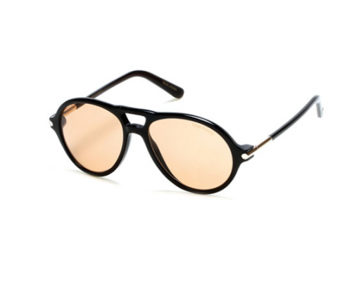 Tom N.10 Private Collection Horn Aviator Sunglasses by TOM FORD