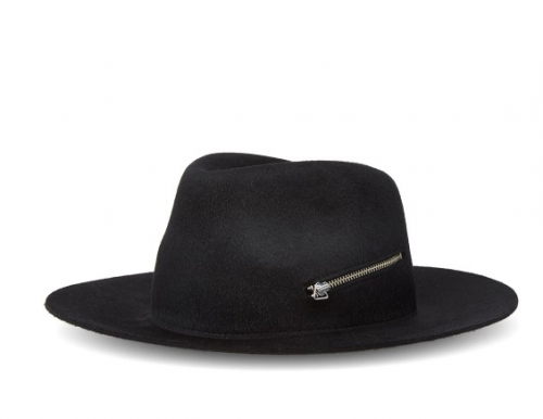 LAROSE Paris Zip Pin Fedora