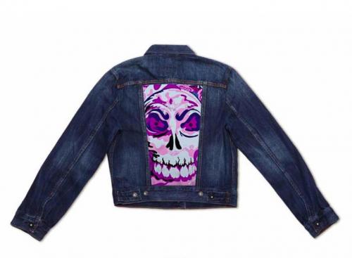 LEVI'S Lady Pink Women's Bohemian Trucker Jacket