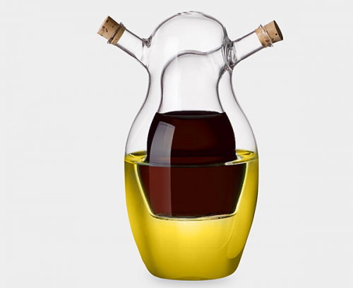 Very Cool Oil & Vinegar Babuska Cruet