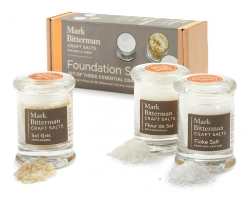 BITTERMAN'S FOUNDATION Salt Set