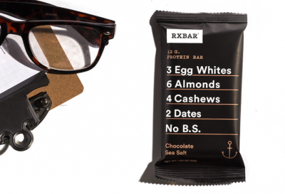 RXBAR Whole Food Protein Bars keep it simple and yummy