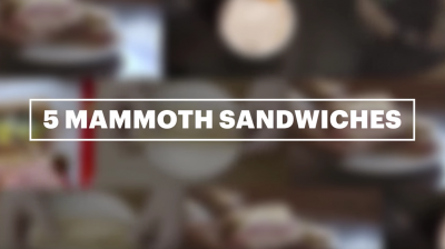 Feature Video: 5 Must Try Massive Meat Sandwiches