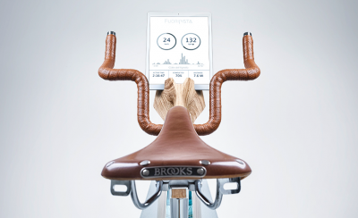 Beautiful FUORIPISTA Exercise Bike from Adriano Design