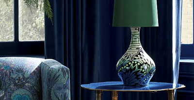 Matthew Williamson x CB2 butterfly table lamp