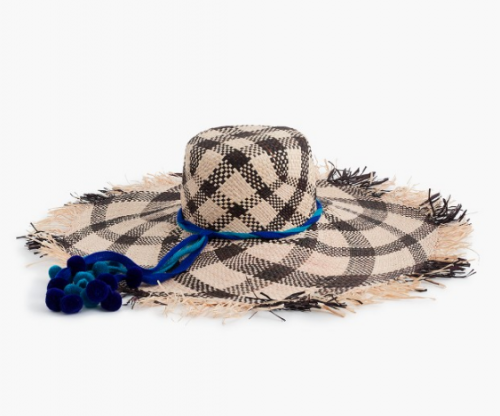 Nannacay & J Crew got together for this TULULU the perfect summer hat