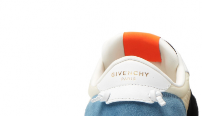 GIVENCHY Panelled Mesh, Leather and Suede Kicks