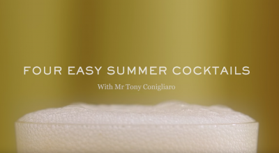 FEATURE VIDEO: FOUR EASY SUMMER COCKTAILS presented by MR. PORTER