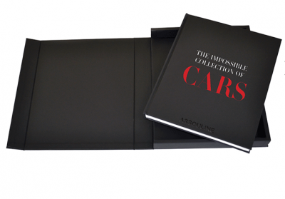 The Impossible Collection Of Cars Book from ASSOULINE