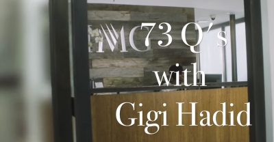 FEATURE VIDEO: VOGUE 73 Questions With Gigi Hadid