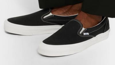 VANS OG Classic LX Canvas Slip On Sneakers