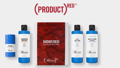 BAXTER OF CALIFORNIA & (RED) joined forces to create this SHOWE(RED) Kit