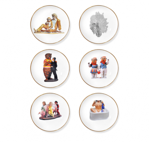 Jeff Koons: Banality Coupe Soup Bowl Set