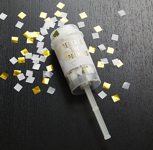 Party Gold Confetti Popper perfect for NYE