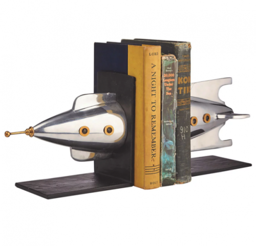 PENDULUX Rocket Bookend